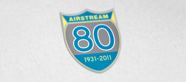 Airstream 80th Anniversary Logo