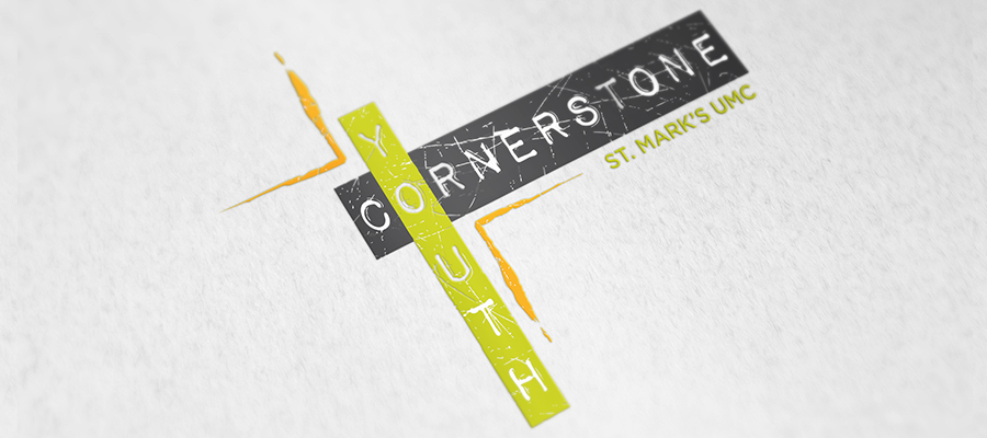 Logo for St. Mark's youth ministry called Cornerstone Youth
