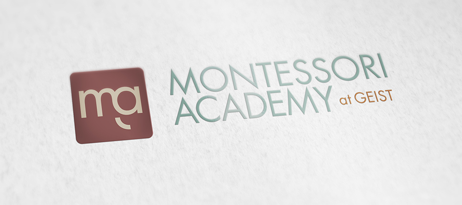 Montessori School at Geist Logo