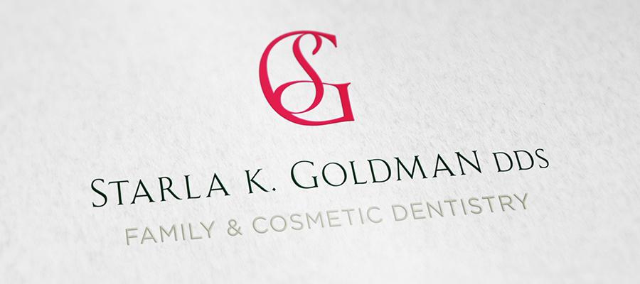 Starla K. Goldman Dentistry Logo