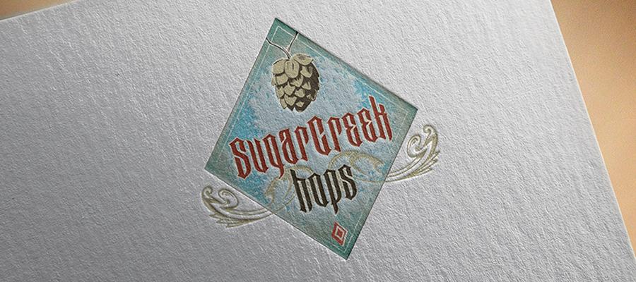 Sugar Creek Hops logo option