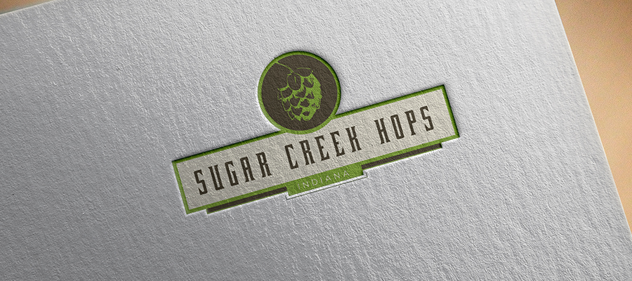 Sugar Creek Hops logo option