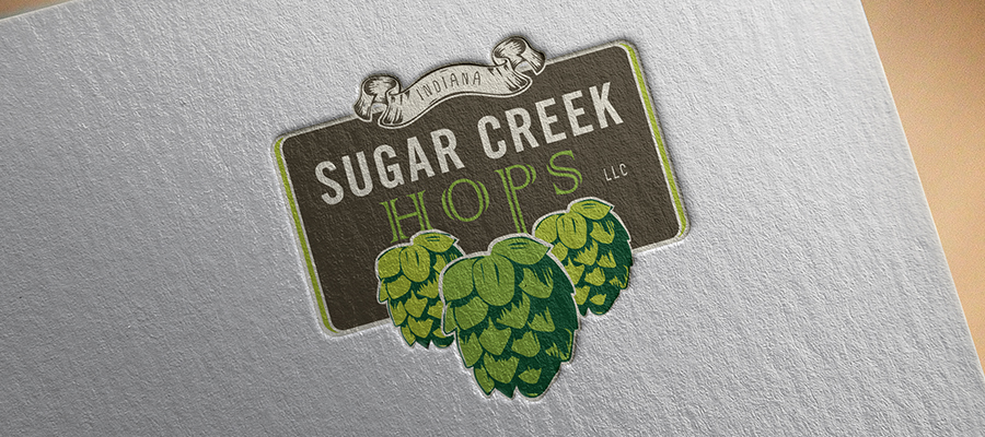 Sugar Creek Hops Logo