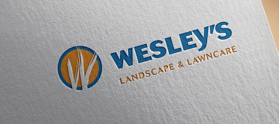Wesley's Landscape Logo